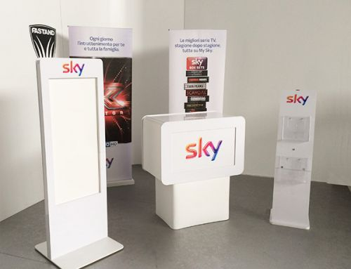 Stand kit itinerante Sky