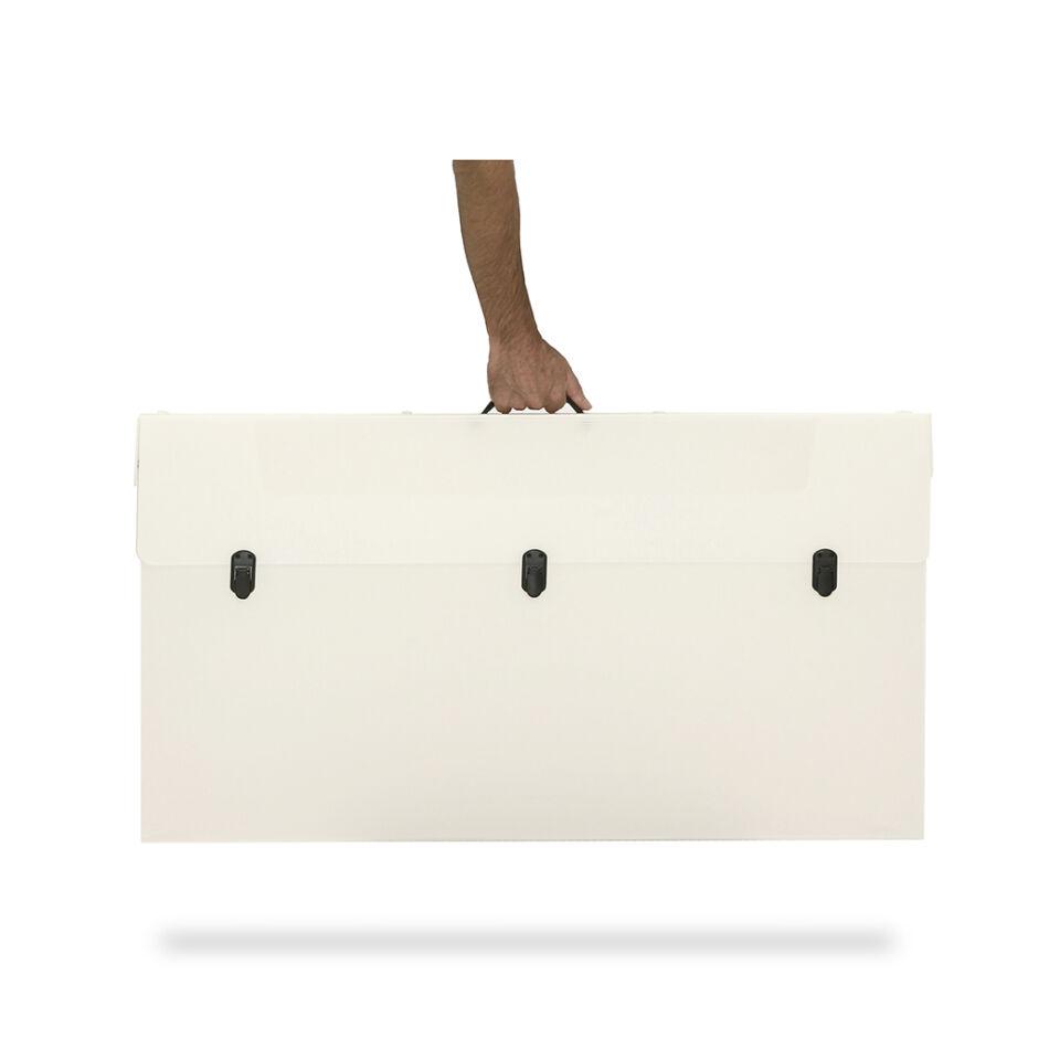 valigia di trasporto per stand in kit