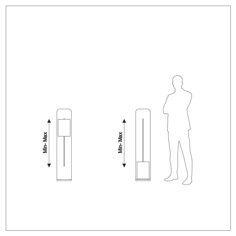 valigia espositore curvilineo