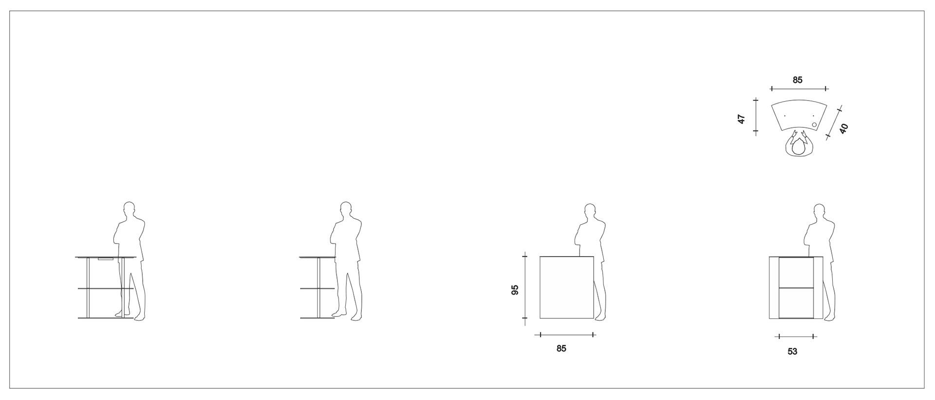 diseño de recepción modular