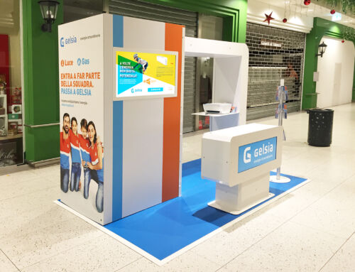 Stand centro commerciale