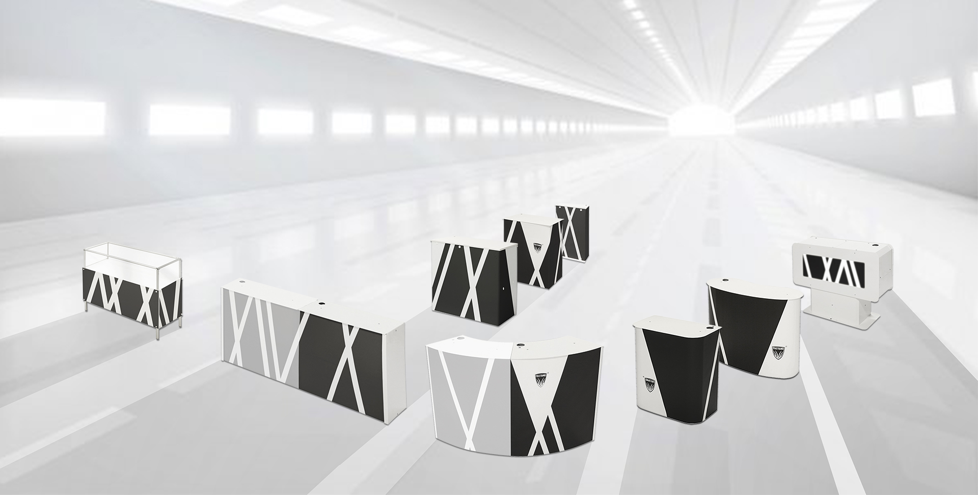 portable desk range