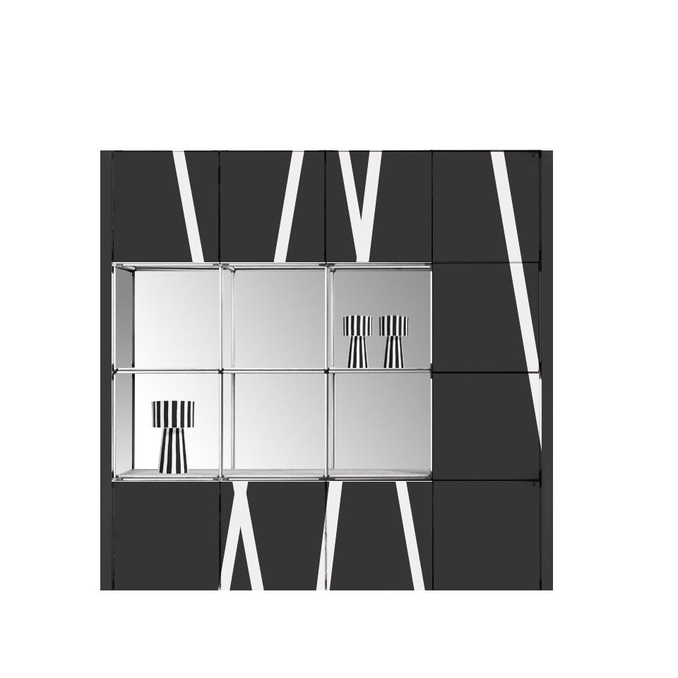 parete modulare e componibile