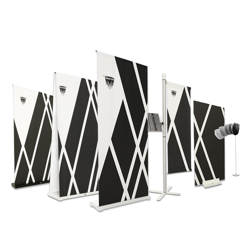gamma display roll-up portatili